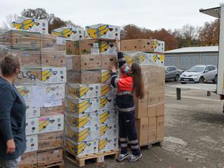 Die Flühi spendet 8.000 Stoffartikel an Kinderkliniken und -stationen