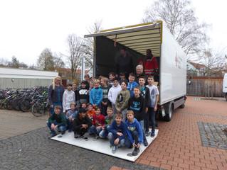 Spendenaktion der Herzog-Tassilo-Realschule Erding
