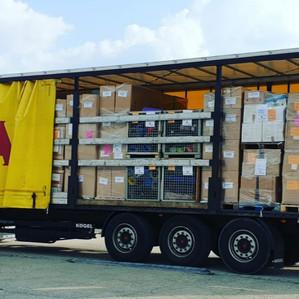 Sammelaktion für Moria von der Flüchtlingshilfe Erding e.V.