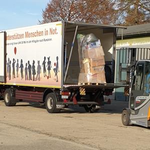 Osteuropahilfe ist wieder unterwegs