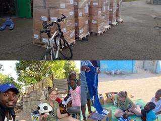Lieferung nach Gambia
