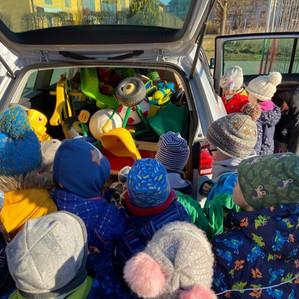 """Spielzeugspende Kindergarten """"Kinderland"""", Markt Schwaben"""