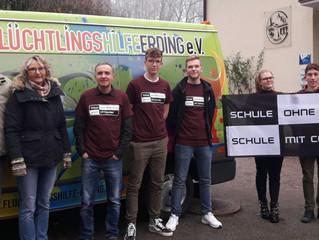 Erneute Spendenaktion Anne-Frank-Gymnasium Erding