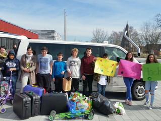 Spendenaktion Mittelschule Dorfen