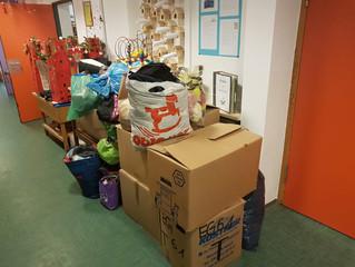 Viele Spenden von Kindergärten