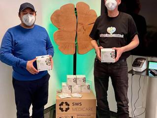 1000 Masken von SWS-Medicare