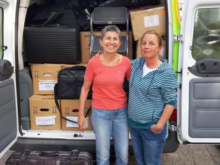 Spende für Ankerzentrum Manching bei Ingolstadt und Deggendorf