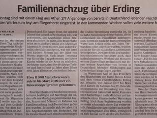 """Artikel """"Süddeutsche Zeigung"""""""