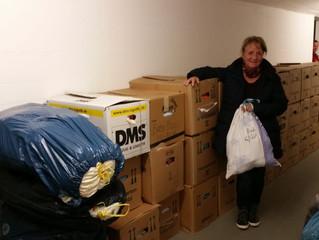 Babybags und Mehr für das Ankerzentrum Manching