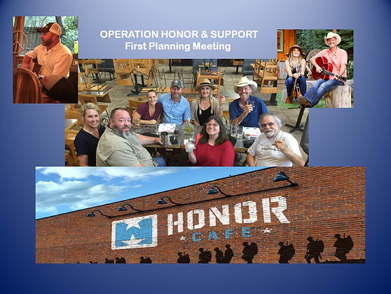 Operation Honor & Support 1st Planning M