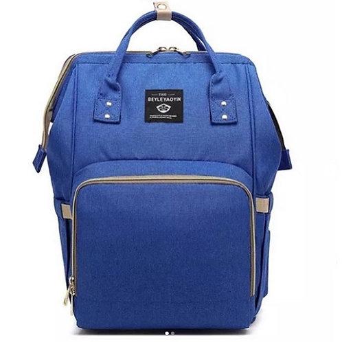 Рюкзак саквояж для МАМОЧЕК, синий