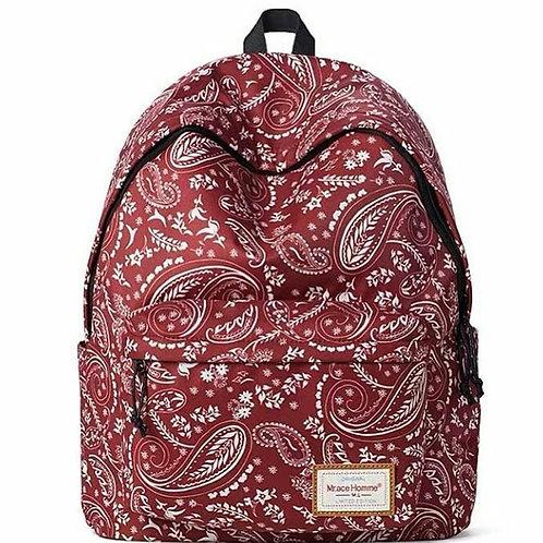 рюкзак с принтом, mr ace homme, красный