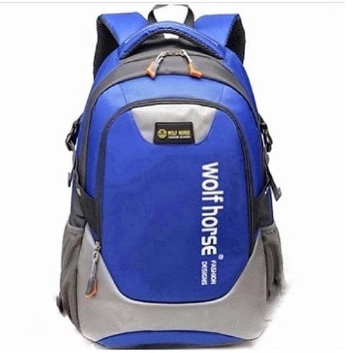 Спортивный синий рюкзак, Wolf Horse