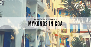 A shade of Mykonos in the heart of Goa