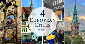 11 Days, 4 European Cities!