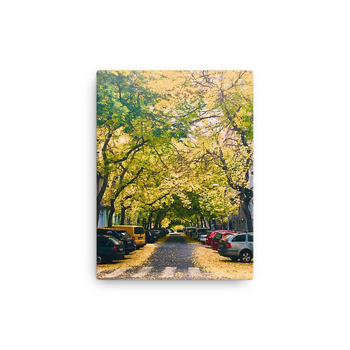Autumn in Prague on Canvas by Being Out Of Office