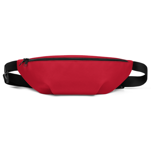 Hashtag Back To Basics Ruby Red Fanny Pack by Being Out Of Office