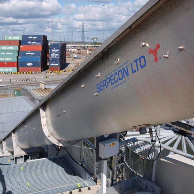 serpecon Silo Conveyors & Walkway