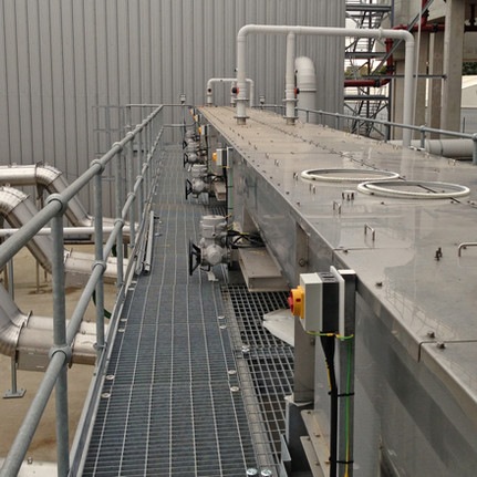 Inlet Screenings Conveyors