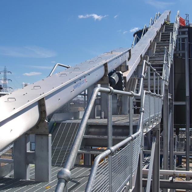 Silo Screw Conveyors & Walkway