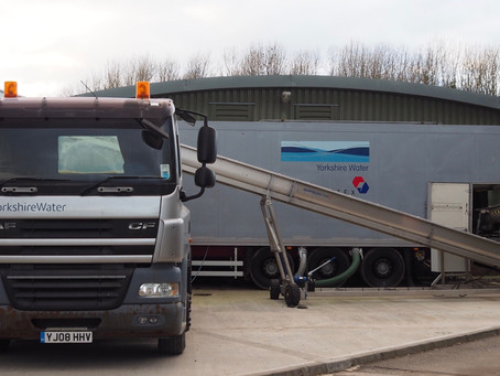 Radial Conveyor Supplied To Yorkshire Water