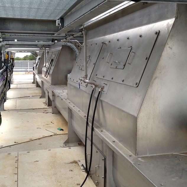 Inlet Screenings Conveyors