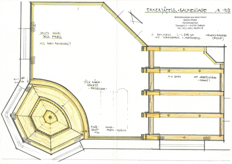 plan küche landhaus 3
