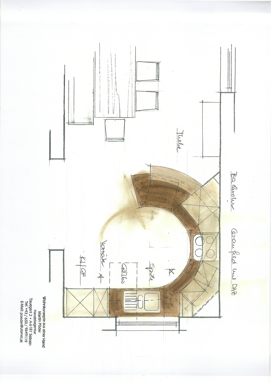 plan küche 7
