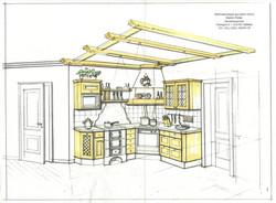 plan küche landhaus 2