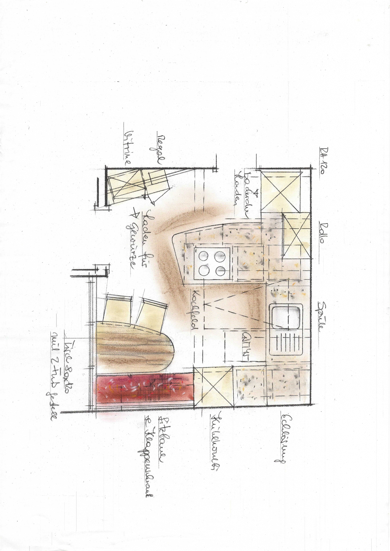 plan küche 1