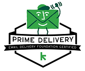 Email Deliverability Certification Badge