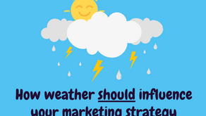 How weather should influence your marketing strategy