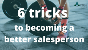 6 tricks to becoming a better salesperson
