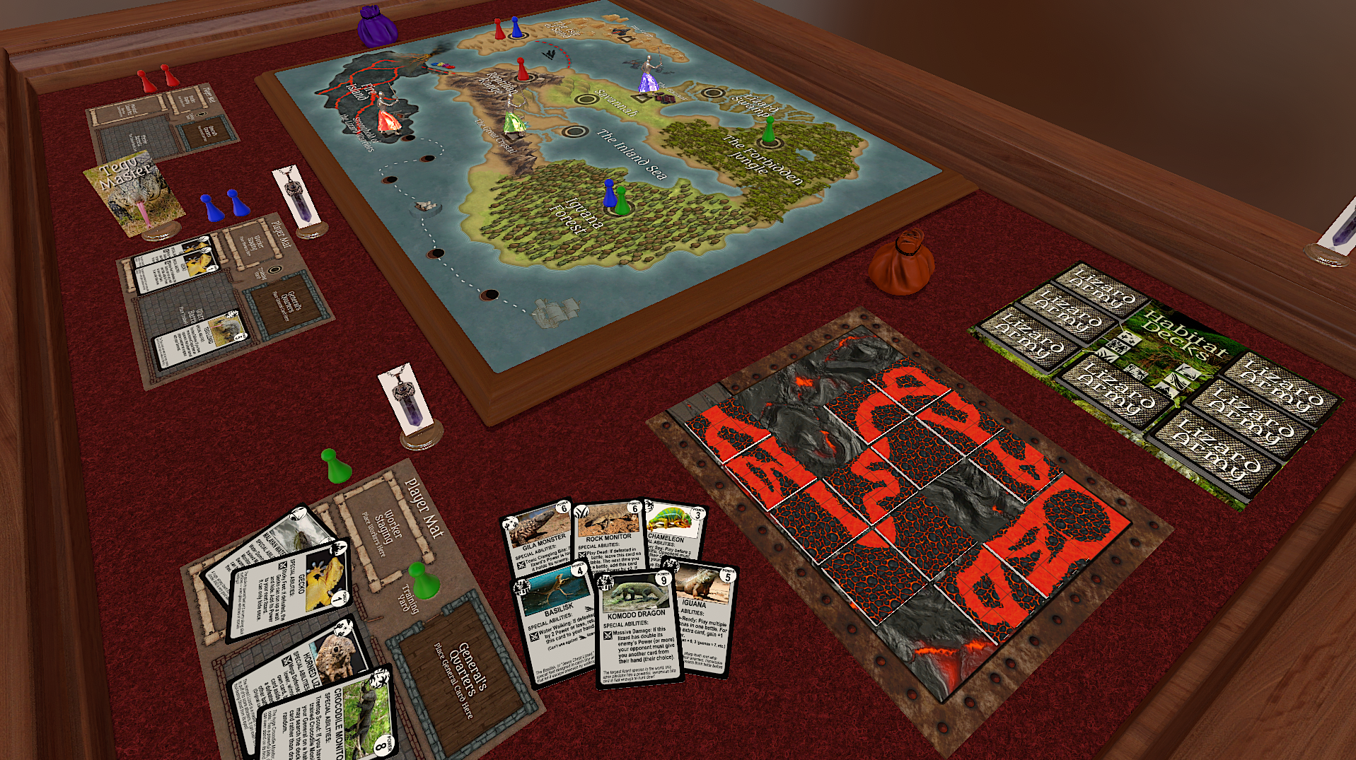 Game Layout on Tabletop Simulator