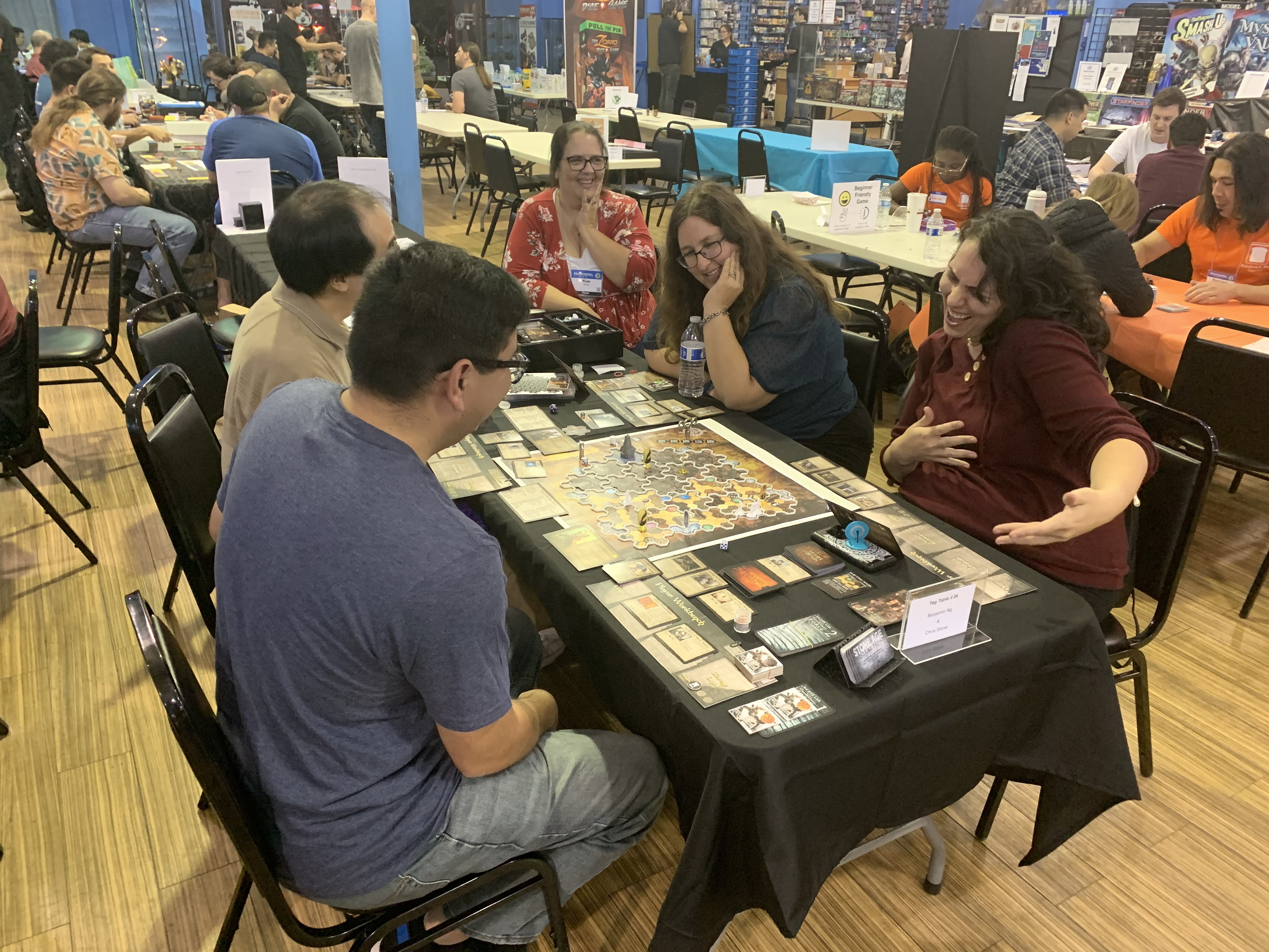 Playtesting at Protospiel, 2019