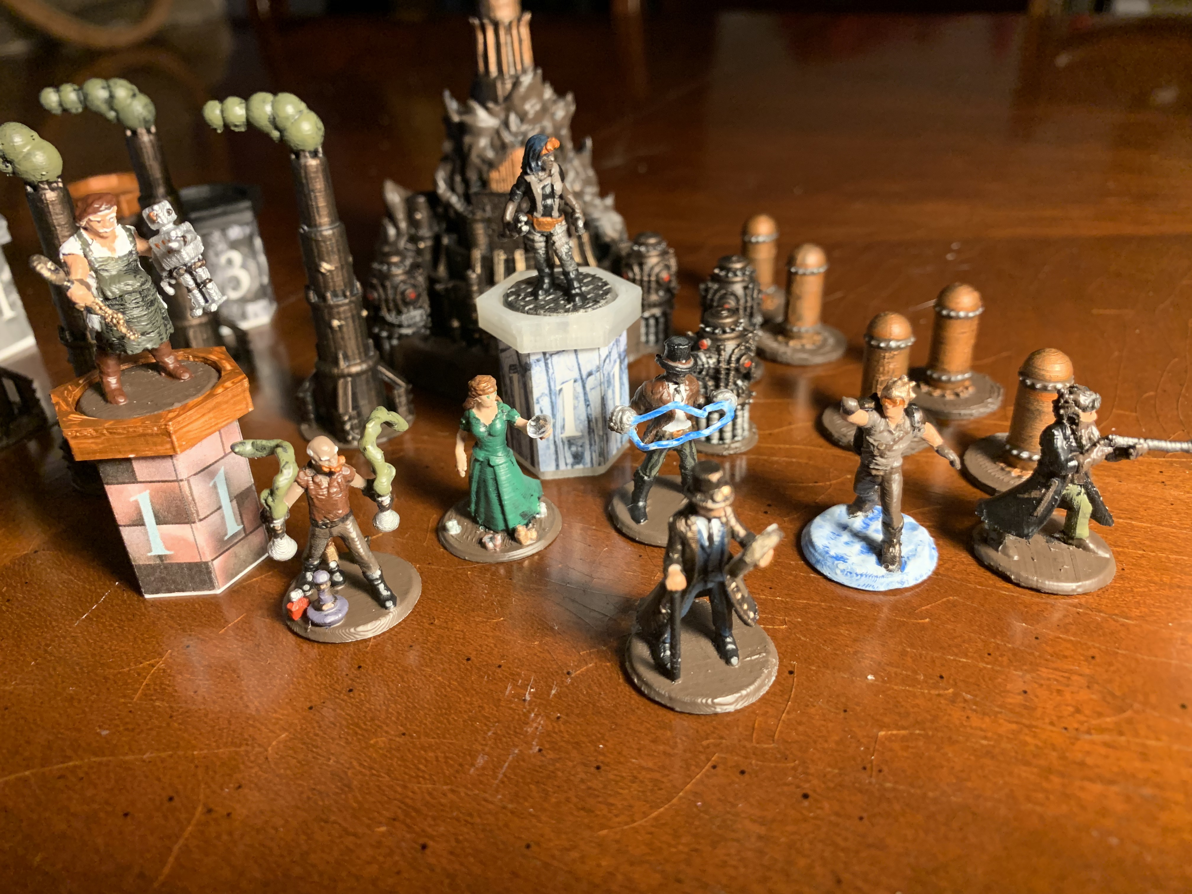 Painted Miniatures 1