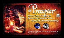 preceptor, v3