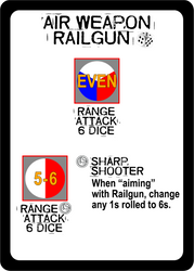 Air Weapon - Railgun