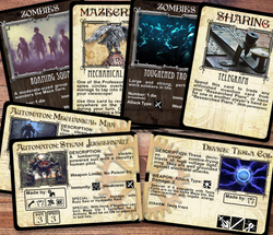 Player and Maze Deck Cards