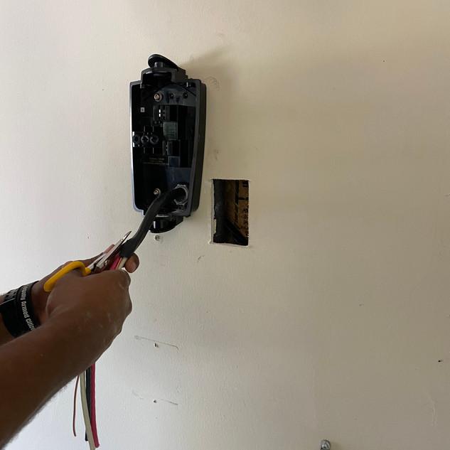 Electric Car Install