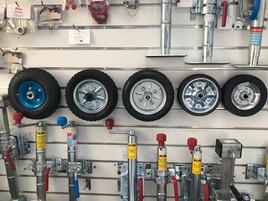 Various Spare Jockey Wheels