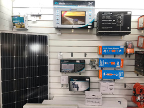 Caravan Solar Power and Entertainment