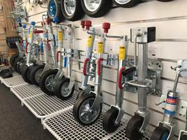 Various Trailer & Caravan Jockey Wheel Systems Complete