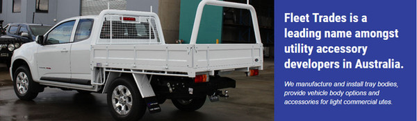 Fleet Trades Steel Quality Ute Trays Can