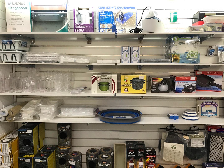 Caravan Cooking and Kitchen Equipment