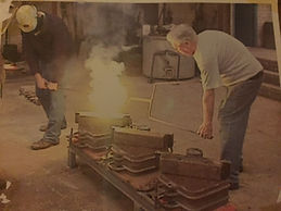 Ron Bartlett Foundry Casting 1990