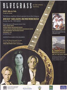 Ricky Nelson Sons Flyer
