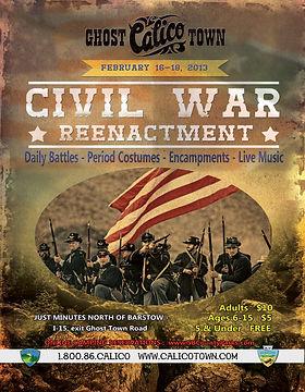 Civil War Event Flyer
