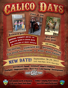 Old West Event Flyer