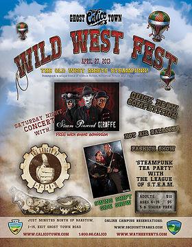 Steampunk Event Flyer